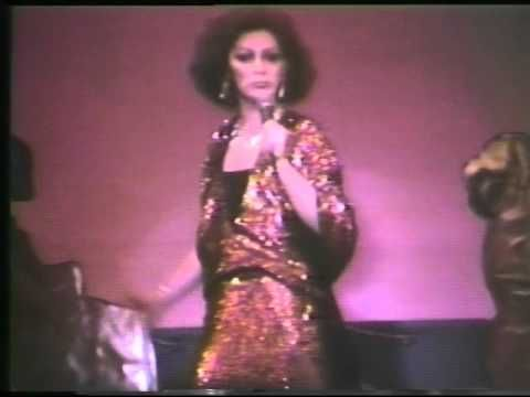Holly Woodlawn at Reno Sweeney from Emerald City TV 1977