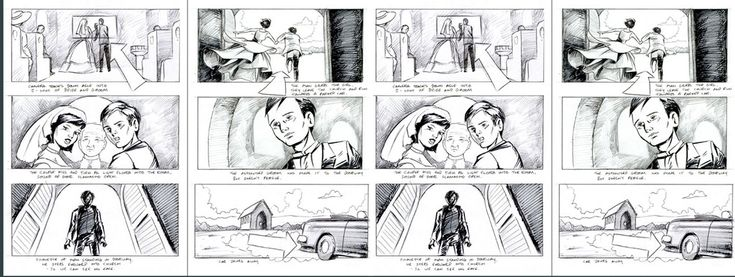"""Storyboard Examples From """"Skull Island"""" #Videography"""