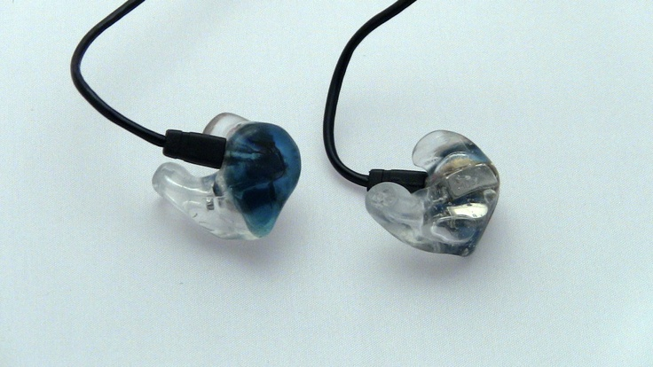 Get your in ear monitors customized today by www.inearcustom.com for only $119 custom ultimate ears triple fi 10 clear shell light blue cap   http://www.inearcustom.com