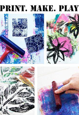 Alisa Burke — print.make.play online art class