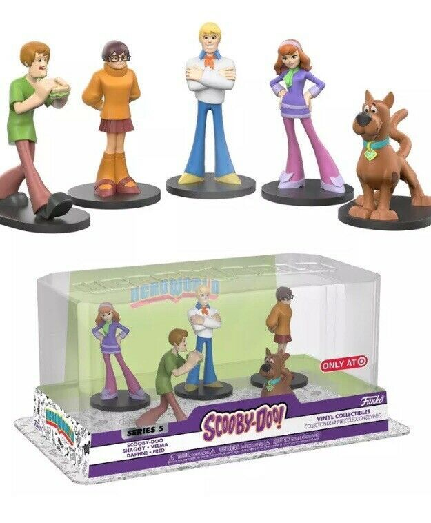 2019 Scooby-Doo Charter Ltd Series Articulated Figure Shaggy 50th Anniversary