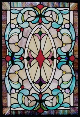 Harmon Victorian Stained Glass Window