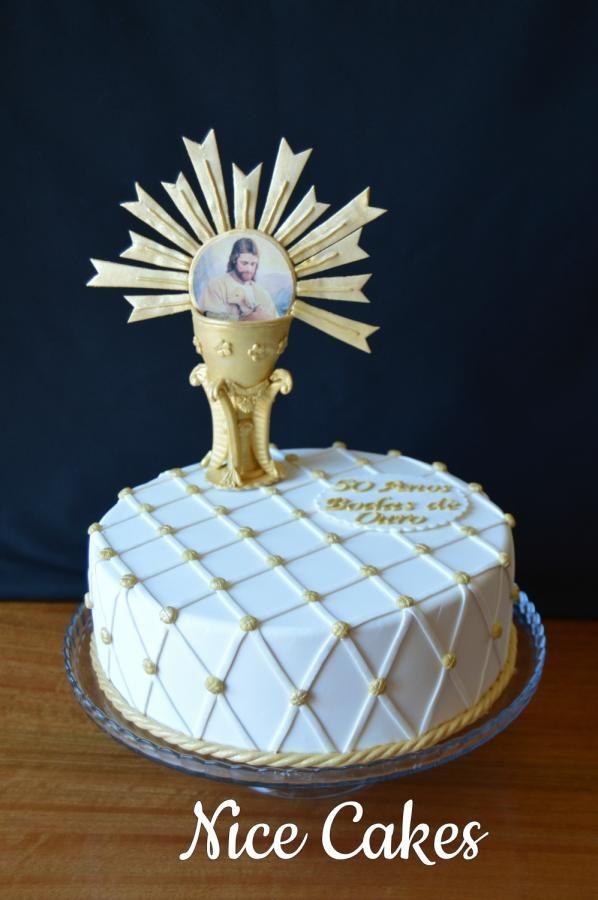 Priest anniversary cake by Nice Cakes