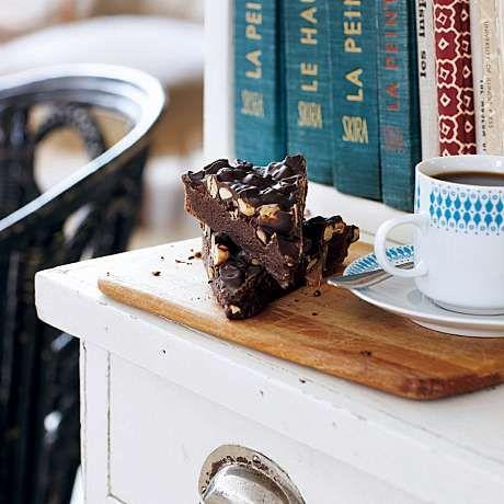 Den perfekta trösten en kulen dag, en riktigt god kladdkaka! Vi gillar konditorn Mia Öhrns härliga recept.