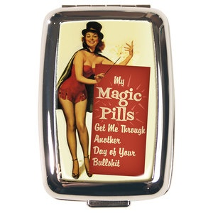 Magic Pills Pillbox, $14, now featured on Fab.
