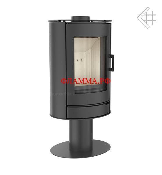 Печь KOZA/AB/S/N KRATKI (Польша) на печном складе ФЛАММА  по цене 80000.00 RUB      ПечьKOZA/AB/S/N   Печь Koza AB/S/N современной цилиндрической формы. Камера сгорания, корпус печи, верхняя плита и дверца изготовлены из стали. Печь имеет верхнее или заднее подключение к дымоходу. Камера сгорания футерована керамикой Acumotte. Дверца с большим панорамным стеклом. Камера под печкой оснащена механизмом «нажмите для открытия» - открывается нажатием. Тройная система подачи воздуха в камеру…