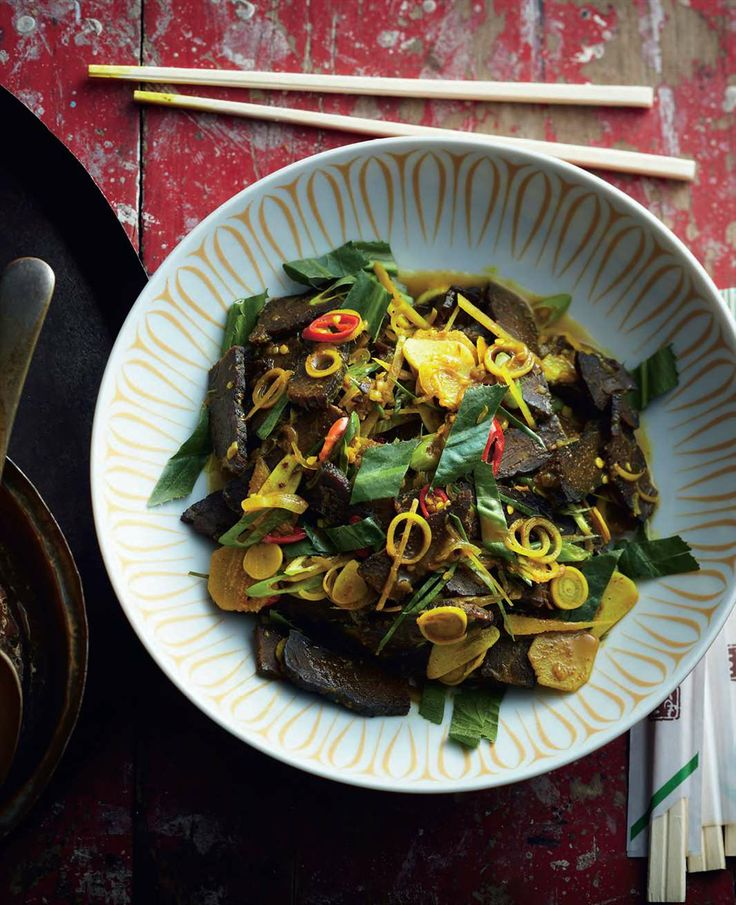 Aromatic stir-fried smoked beef by Luke Nguyen from Luke Nguyen's Greater Mekong | Cooked