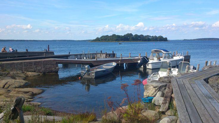 The island Norröra, Stockholm archipelago.