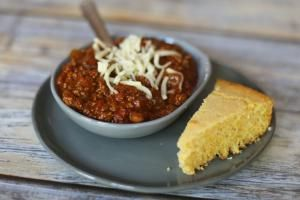 18 Great Chili Recipes, From Beef and Pork to Chicken and Turkey: Quick and Easy Stovetop Beef Chili with Beans