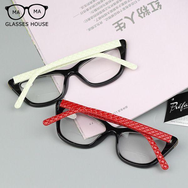 Нового высокого класса кошки чтение глаз очки женские модели большой коробки из бисера моды очки HD анти усталость старый бесплатная доставка