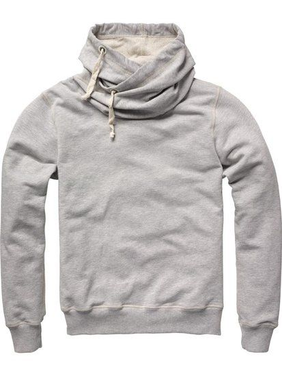 Scotch & Soda Twisted Hooded Sweater.