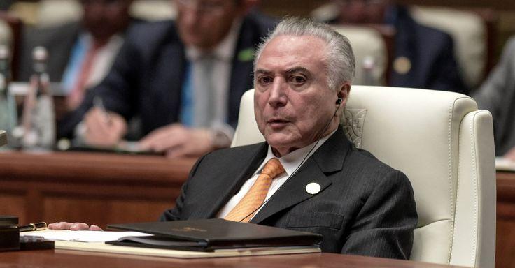 Janot apresenta denúncia contra Temer, cúpula do PMDB e delatores da JBS