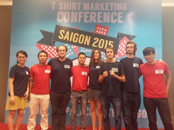 #tbt to the T-Shirt Marketing Conference in Saigon in 2015.