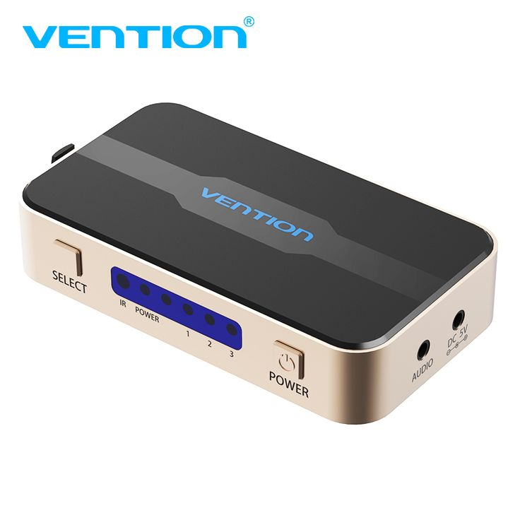 ==> [Free Shipping] Buy Best Vention HDMI Splitter 3 Input 1 Output 4K 3Port HDMI Switcher Swtich HDMI With Toslink Audio 3D 2160P For Xbox 360 PS4 Smart HD Online with LOWEST Price | 32598357419