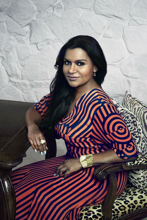 One of our favs, the always stylish Mindy Kaling  #StyleInspo