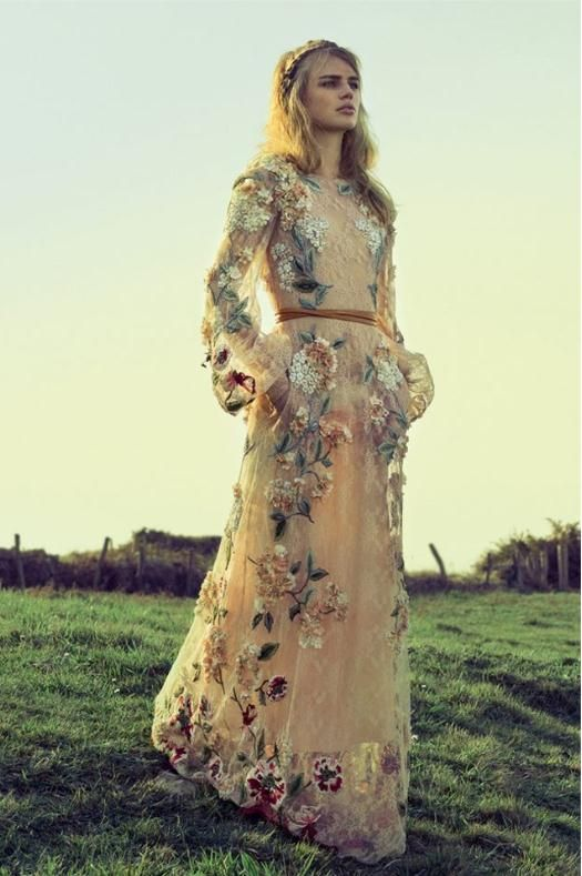 Bohemian dress inspiration | Valentino | photo...