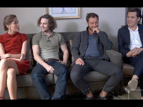DP/30: Anna Karenina, director Joe Wright, actors Keira Knightley, Jude Law, Aaron Taylor-Johnson.