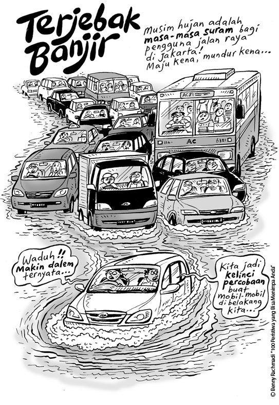 Terjebak Banjir (Tiga Manula, Benny Rachmadi)