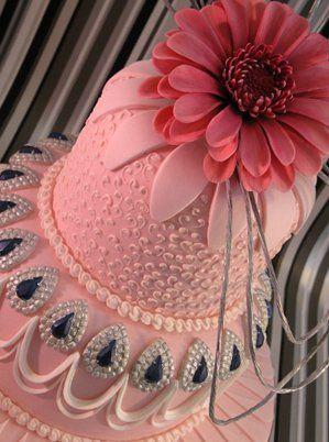 241 Best Bling Cakes Images On Pinterest Cake Wedding