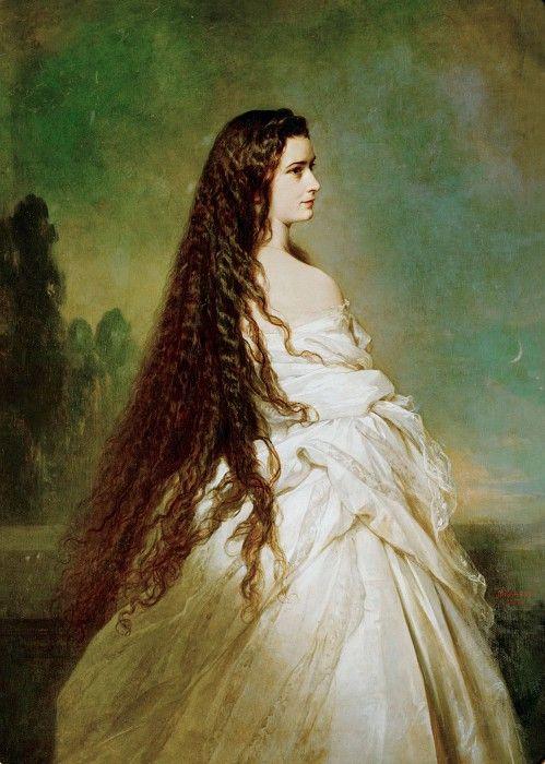 Елизавета, императрица Австрии и королева Венгрии (1837-1898 убита). Франц Ксавьер Винтерхальтер