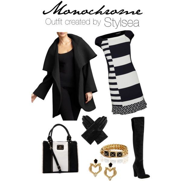 Monochrome #1 - outfit created by Stylsea Downunder