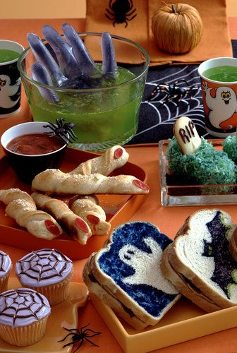 lots of great halloween recipes tips and tricks for your treats party - Halloween Decorations Food