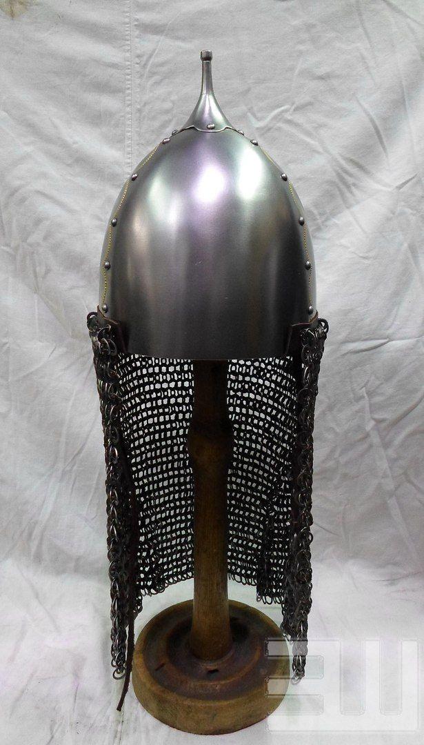 Степные воины из эпохи миграции - 14. Век – 259 photos  Helmet of Pecs  Hungary, dating from the second half  tenth cent.