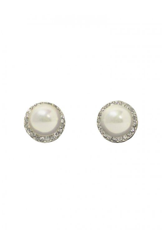 Collectif Accessories Diamante And Pearl Studs - Collectif Accessories from Collectif UK