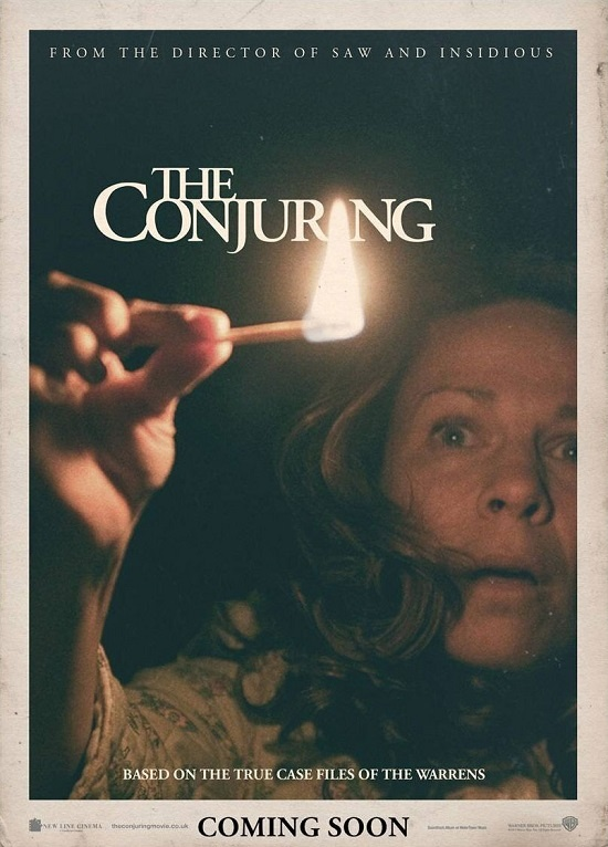 """""""The Conjuring"""" - Paranormal investigators Ed and Lorraine Warren work to help a family terrorized by a dark presence in their farmhouse. A really great cast - Patrick Wilson and Vera Farmiga as Ed and Lorraine Warren, with Lili Taylor, Ron Livingston and Mackenzie Foy. Directed by James Wan. Loved it!! Image and info credit: IMDb."""