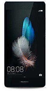 Huawei P8 lite Dual-SIM Smartphone (5 Zoll (12,7 cm) Touch-Display, 16 GB Speicher, Android 5.0) schwarz