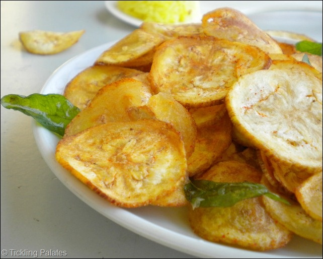 Plantain Chips - Homemade