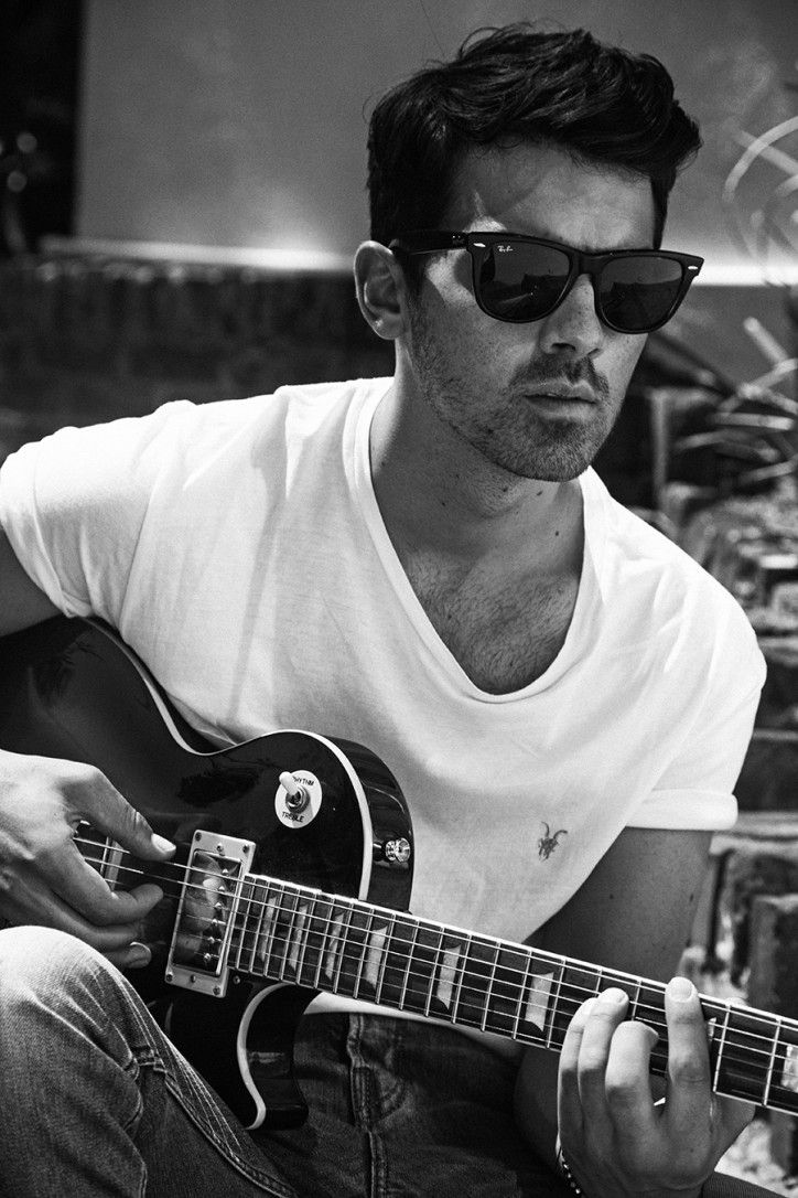 Joe Jonas. Galore Mag. #shades