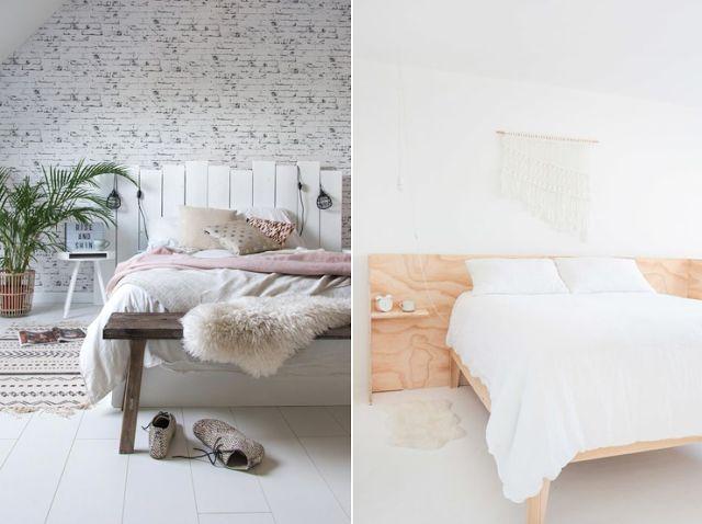 les 25 meilleures id es concernant t te de lit en contreplaqu sur pinterest t te de lit noire. Black Bedroom Furniture Sets. Home Design Ideas