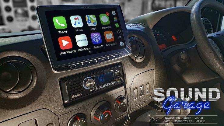 Alpine Halo9 iLXF309E compliments the Renault Dash