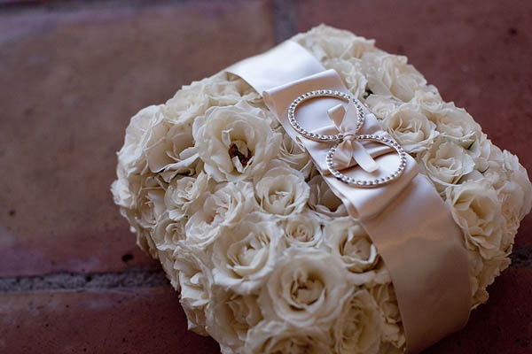 ring bearers flower pillow