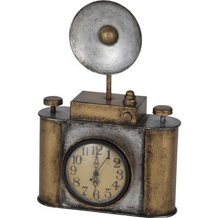 Camera Desk Clock