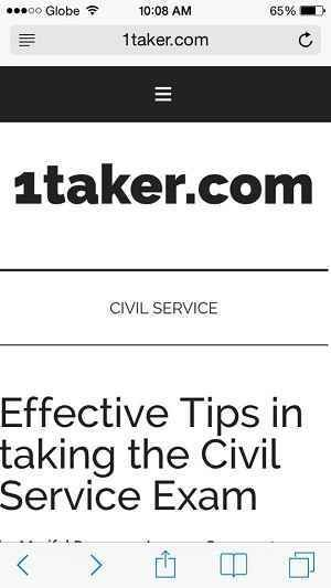 Tips For Civil Service Exam In The Philippines  Civil Service