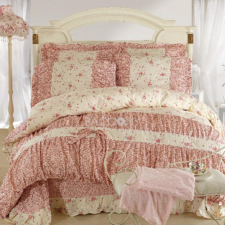 only flower dreamspring cotton 4piece queenking size