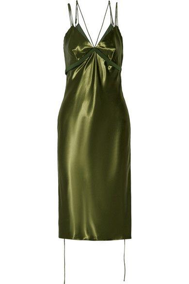 Alexander Wang Bias Cut Slip Dress, $1,295; at Net-A-Porter  Read more: http://stylecaster.com/lingerie-trend/#ixzz4GF8XsqmK