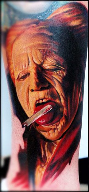 Tattoo by Nikko Hurtado | The absolute best portrait tattoo artist. Never seen detailed work this amazing