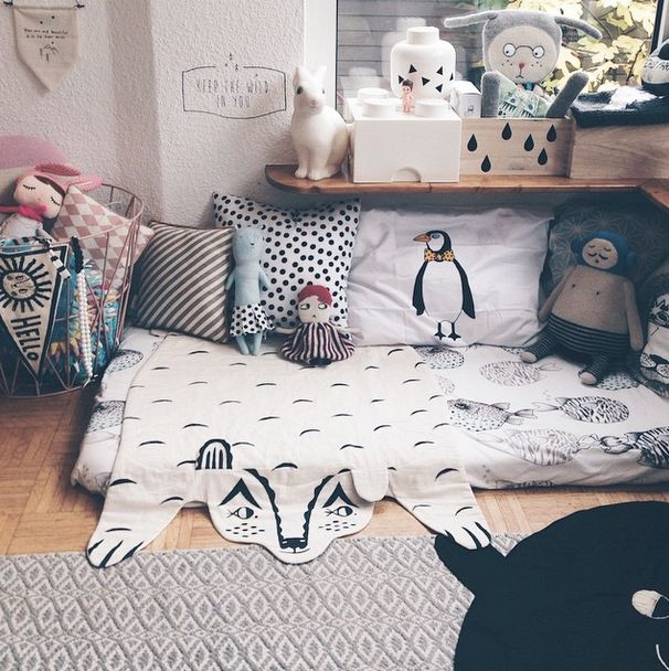 Instagrams's Inspiration. Cute Kids' Rooms- Petit&Small-