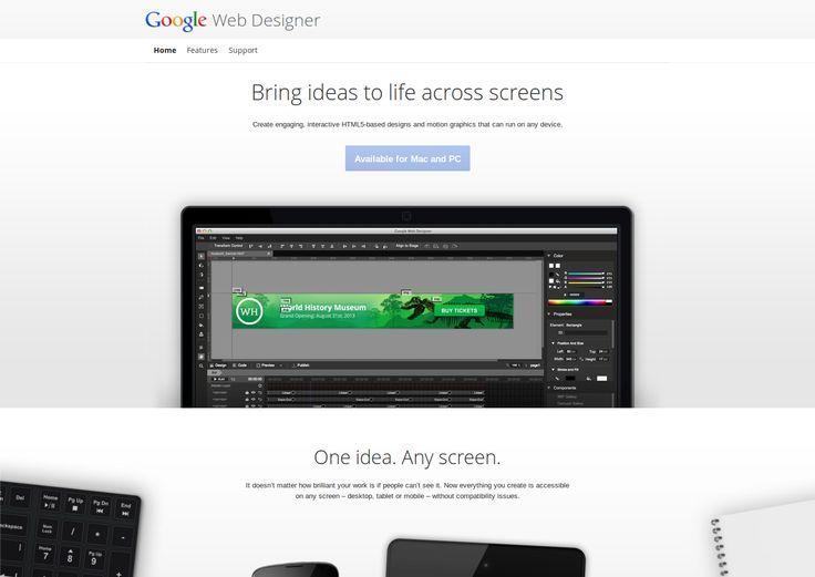 Google Web Designer Launched In Public Beta