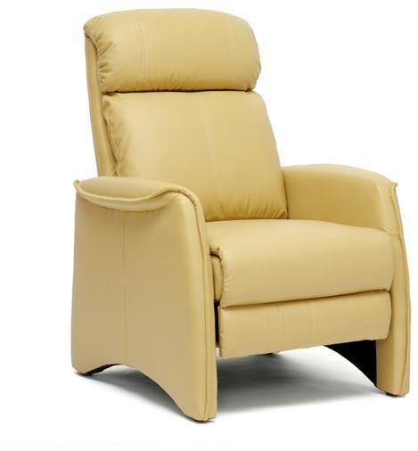 Wholesale Interiors A-062-Tan Aberfeld Tan Modern Recliner Club Chair - Each