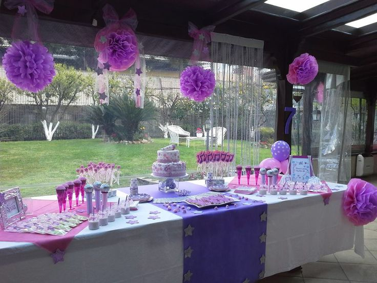 Bruna's popstar party
