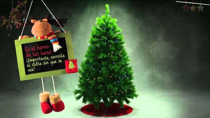 Decora el árbol de #Navidad perfecto siguiendo estos sencillos 10 pasos #Navidad #DIY  https://www.youtube.com/watch?v=C41w6hLLGj0