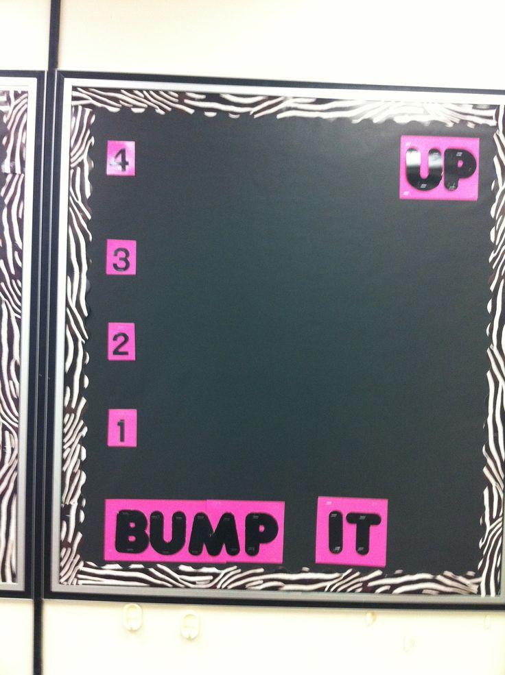 Bump it up!  Zebra style