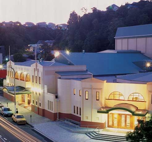The Municipal Theatre, Tennyson Street, Napier City, New Zealand.