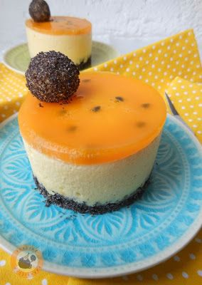 Passionfruit & poppy seed mini cakes