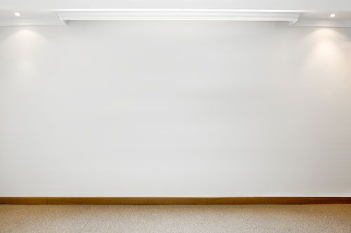 Plain Wall With Panelling And Walls : Plain white wall focus g fundementals of