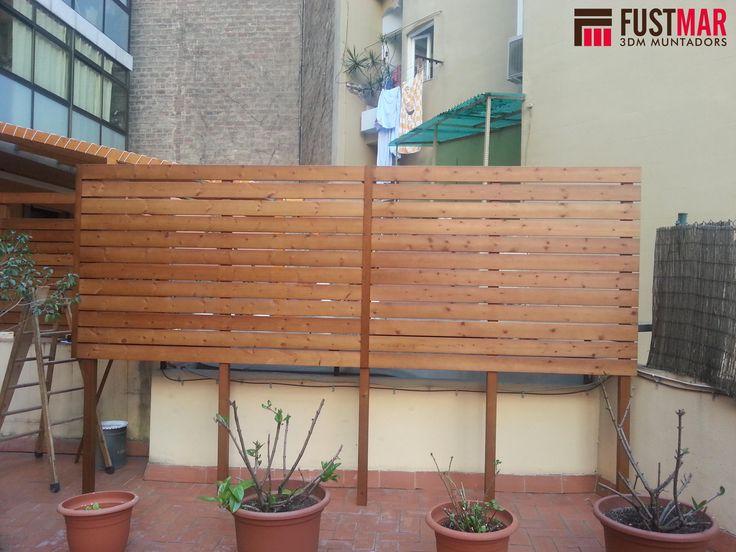 23 best images about vallas de madera lleida on - Vallas de madera tratada ...